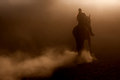 Horse Riding In The Dust Stock Images - 33609334