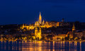 Fisherman Bastion In Budapest During 2013 Summer Flood Royalty Free Stock Photos - 33622488