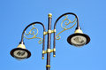 Decorative Old Street Lamp Stock Images - 33632384