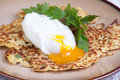 Parsnip Pancakes With Egg Stock Photo - 33632950