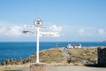 Famous Lands End Signpost. Royalty Free Stock Photos - 33638688