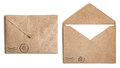 Two Brown Envelope Stock Images - 33642034