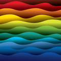 Abstract Colorful Water Waves Of Ocean Or Sea Background Stock Photo - 33646980