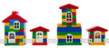 Toy Colorful  Houses Royalty Free Stock Photography - 33647217