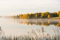 Serene Autumn Waterscape Stock Images - 33648174
