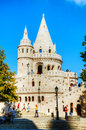 Fisherman S Bastion On A Sunny Day In Budapest, Hungary Stock Photography - 33648522