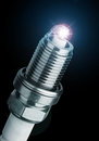 Spark Plug For The Car Royalty Free Stock Photography - 33652267