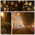 Andrassy Way At Christmastime Royalty Free Stock Images - 33656289