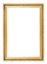 Gold Picture Frame Stock Photos - 33662293