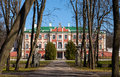 Kadriorg Park With Trees And Palace Facade Royalty Free Stock Photography - 33663637