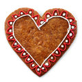 Gingerbread Heart Stock Image - 33665941