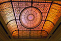 Stained Glass Ceiling Royalty Free Stock Photo - 33681995