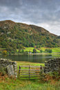 Wooden Gate By Rydal Water Royalty Free Stock Image - 3370206