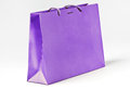 Violet Shopping Bag. Stock Photos - 33704883
