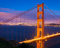 San Francisco At Night Stock Image - 33713131
