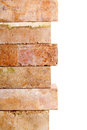 Grunge Clay Brick Border Stock Photography - 33714612