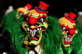Carnival Clowns Stock Image - 33727111