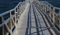 All Aluminum Welded Gangplank Royalty Free Stock Image - 33734236