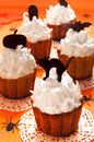 Halloween Cupcakes Royalty Free Stock Photography - 33738377
