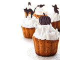Halloween Cupcakes Royalty Free Stock Images - 33738459