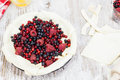 Berry Pie.Preparation For Baking Berry Pie  Royalty Free Stock Images - 33739679