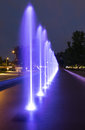 The Illuminated Fountain Royalty Free Stock Image - 33744486
