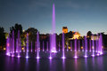 The Illuminated Fountain Royalty Free Stock Photography - 33744497