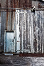 Abandoned Industrial Buildings Royalty Free Stock Photo - 33756785