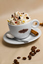Portrait Of Cup Of Tasty Coffe Royalty Free Stock Photos - 33763698