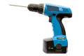 A Cordless Power Drill Stock Images - 33771994