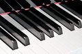 Black And White Keys Of A Piano Stock Photos - 33778393