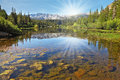 The Magnificent  Mountain Lake Stock Image - 33785621