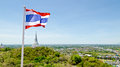 Thai Flag Waving In The Wind Stock Image - 33794111