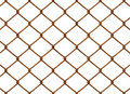 Rusty Chainlink Fence Royalty Free Stock Photos - 3387888