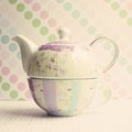 Girly Teapot Royalty Free Stock Photography - 33802867