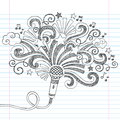 Microphone Music Sketchy Doodles Vector Illustrati Stock Photos - 33826213