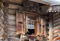 Traditional Russian Old Wooden House Stock Photos - 33828103