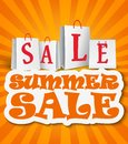 Summer Sale Background Stock Photo - 33834620