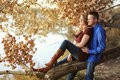 Happy Couple On First Date Stock Photos - 33860583