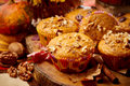 Pumpkin Muffins Royalty Free Stock Photos - 33874208