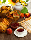 Homemade Pastry Puff Pastry Stock Images - 33899794
