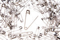 Safety Pins Royalty Free Stock Image - 3395266