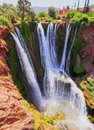 Ouzoud Waterfalls In Morocco Royalty Free Stock Images - 33938499