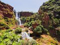 Ouzoud Waterfalls In Morocco Royalty Free Stock Images - 33938519