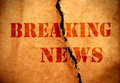 Breaking News Royalty Free Stock Photography - 33941237