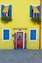 Colorful Houses Of Burano Venice Royalty Free Stock Images - 33965049