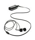 MP3 Player And Earphones Stock Photos - 33982503