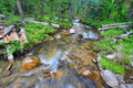 Big Tepee Creek In Wyoming Royalty Free Stock Photography - 33991677