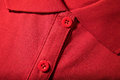 Close-up Of Red T-shirt Royalty Free Stock Photos - 33996928