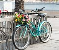 Bicycle With A Basket Royalty Free Stock Images - 33997309